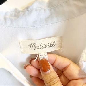 Madewell Tops - Madewell Short Sleeve Button Down Size xs